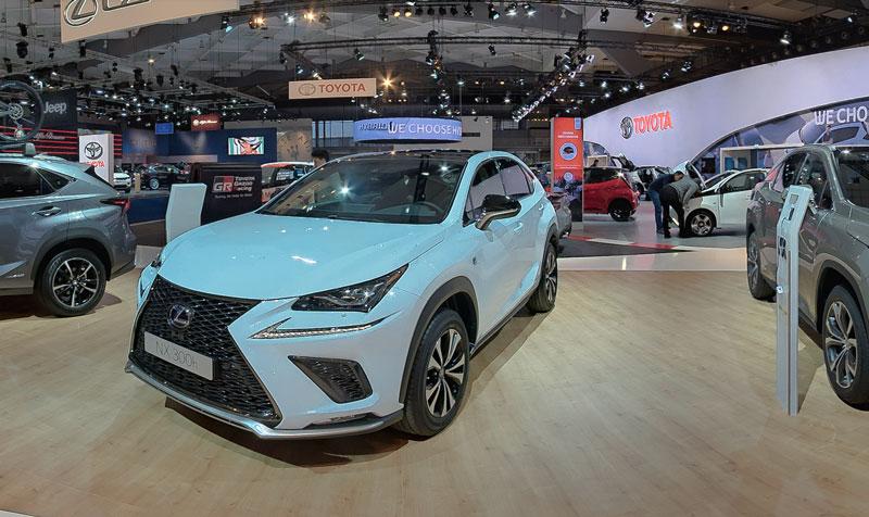 Lexus - Toyota at the Brussels Motorshow 2018 - Garden Gnome Software